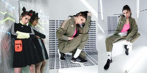 adidas,Yoanna,孫尤安,Future of Sportswear,運動風穿搭,運動時尚,情人節禮物,時尚運動,穿搭