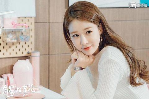 劉仁娜長髮髮型