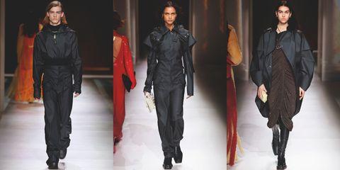 【米蘭時裝週】Bottega Veneta 2020 秋冬大秀將風衣質料成套裝。ˋ