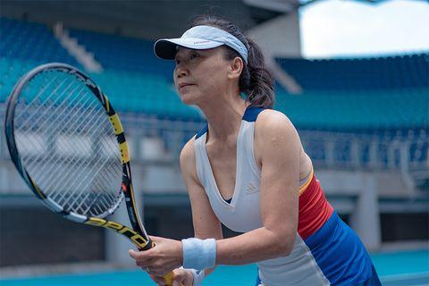 硬式網球先驅謝麗娟