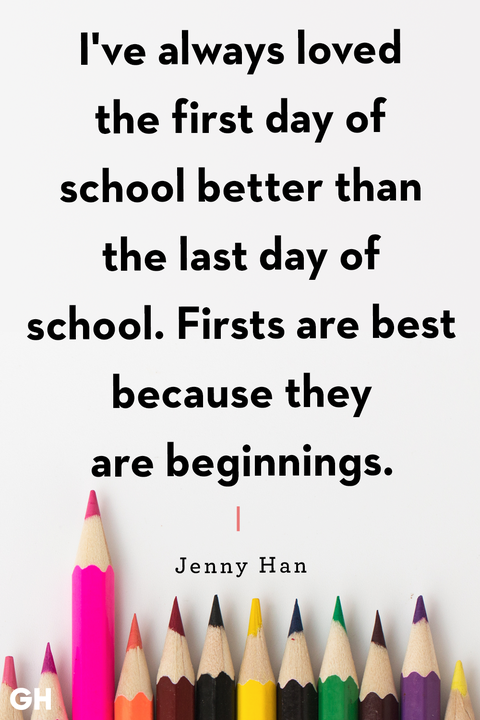 back to school quotes jenny han