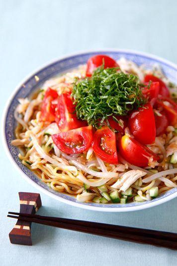 【7月9日】トマトの冷やし中華