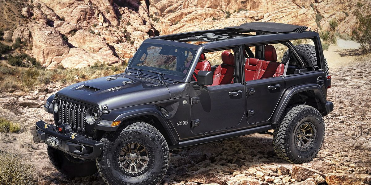 Jeep Wrangler Rubicon 392 Concept Tries to Upstage Ford Bronco Reveal