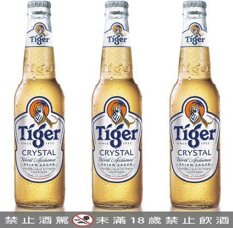 虎牌啤酒推出「tiger crystal 虎牌冰釀啤酒」順飲型啤酒席捲全球