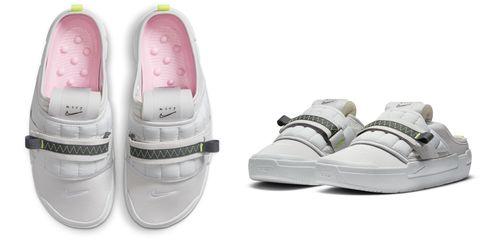 nike offline系列懶人鞋 白色鞋款單品圖