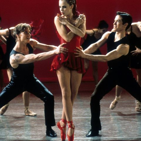 ethan stiefel, amanda schull and sascha radetsky in center stage