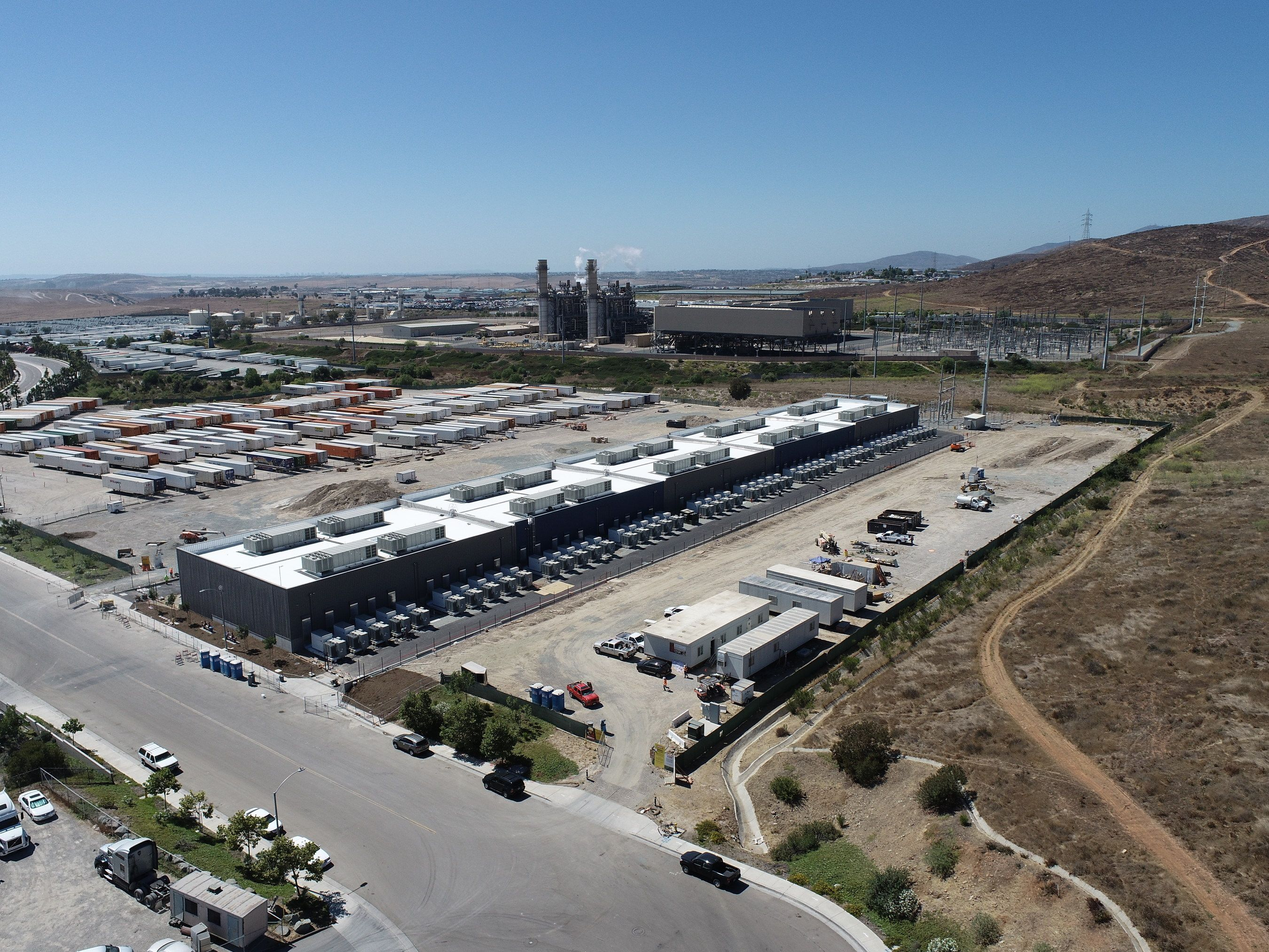 The World's Biggest Battery Farm Is Alive in California