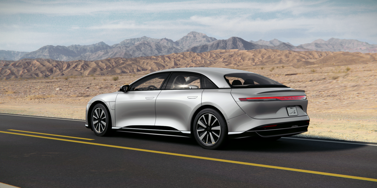 2022 Lucid Air Pure, Base Model of the New EV, to Start at $77400