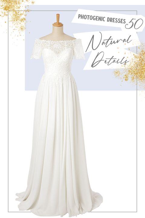 ジョーゼット素材の「マリア・カリン クチュール」のドレス フェリーチェマツエダ 銀座ブティック