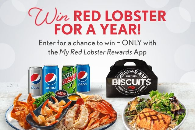 red lobster say goodbye to 2020 sweepstakes