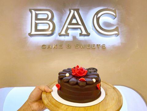 bac母親節限定「花之心伯爵茶巧克力蛋糕」!70比利時生巧克力+唐寧伯爵茶內餡擄獲媽媽的心
