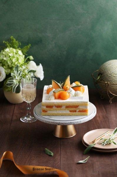激量「哈密瓜+鮮奶油」奢華母親節蛋糕登場!微風超市「艾許鮮奶油哈密瓜蛋糕」獨家限量開賣