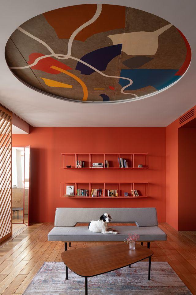 colori caldi per pareti