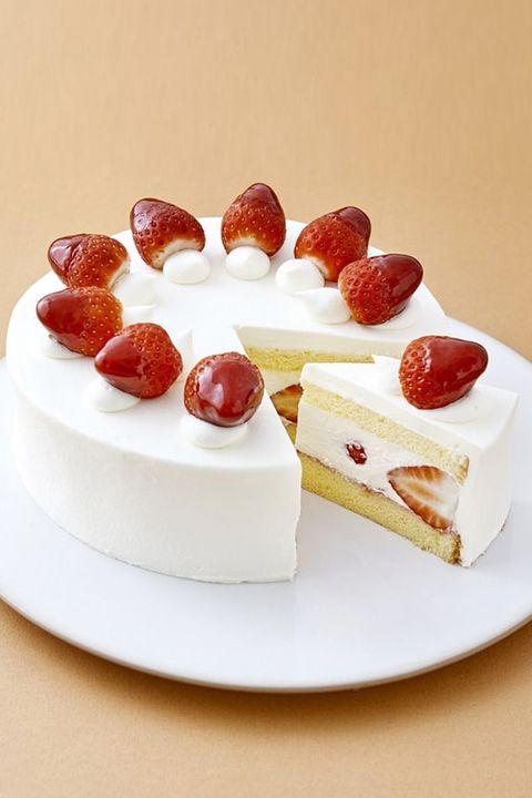 「巴裡 小川軒」の夏苺のショートケーキ