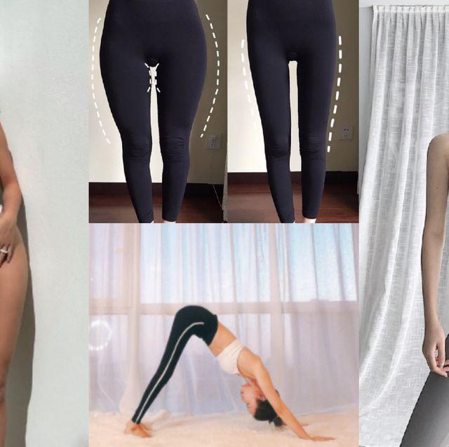 瘦腿縮骨盆運動👉這個動作最有效!掰掰胖胖腿、寬骨盆與馬鞍肉,練出細直漫畫腿,連小腹都扁了