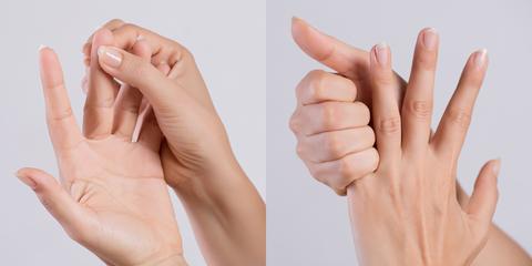 手指粗怎麼瘦?4招指尖按摩拉伸步驟、瘦手指操輕鬆擺脫甜不辣手指