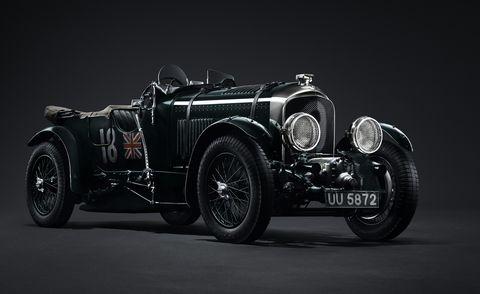 Land vehicle, Vehicle, Car, Vintage car, Classic car, Classic, Antique car, Aston martin ulster, Automotive design, Sports car,