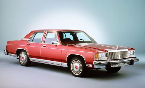 Land vehicle, Vehicle, Car, Full-size car, Classic car, Sedan, Ford ltd crown victoria, Coupé, Hardtop,