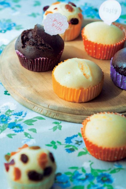 Food, Baking, Cupcake, Dessert, Sweetness, Muffin, Cuisine, Baking cup, Baked goods, Dish,