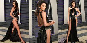 2019奧斯卡, Kendall Jenner, oscar, 女星走紅毯, 性感禮服, 肯達爾珍娜, 超模