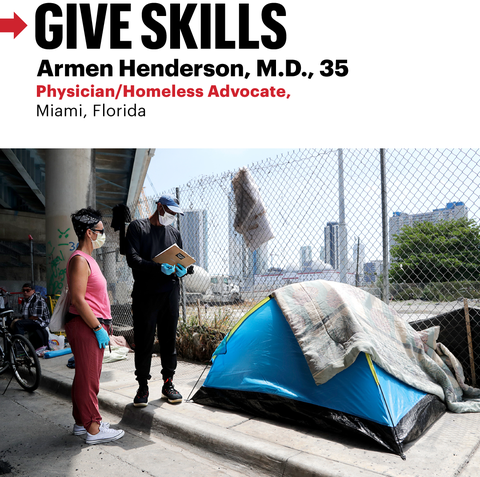 give skills