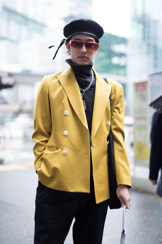 Tokyo Fashion Week Japan Street Style Spring 2018