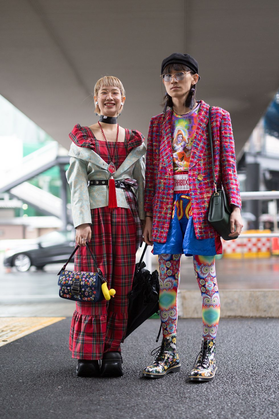 Japanese Street Style The Best Street Style Looks From Tokyo