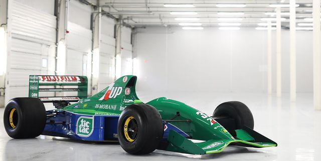 schumacher first f1 car