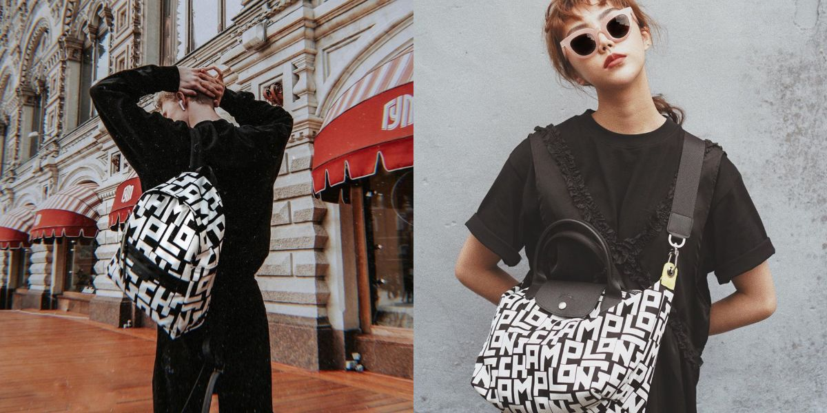 2019 秋冬紐約時裝週, Kendall Jenner, LGP系列, Longchamp, 摺疊包, 法國精品
