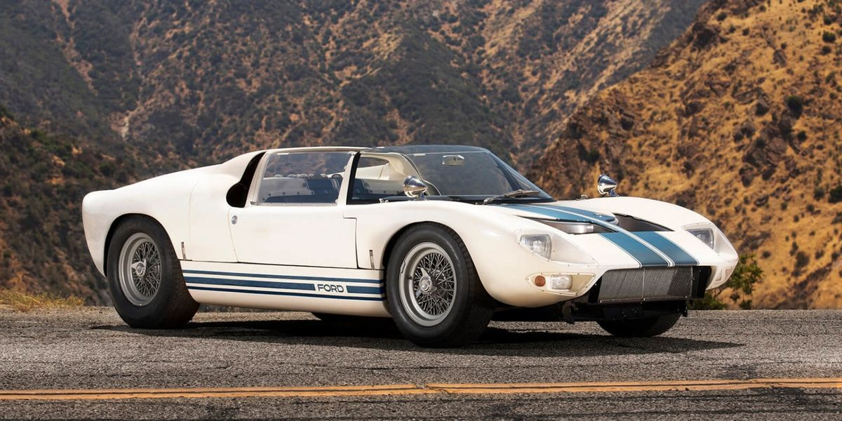 Car Auction Apps >> You Can Buy the Only Surviving Ford GT40 Roadster In the World
