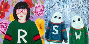 DIY針織衫, Gucci, Gucci DIY針織衫系列, Gucci 個性化DIY系列