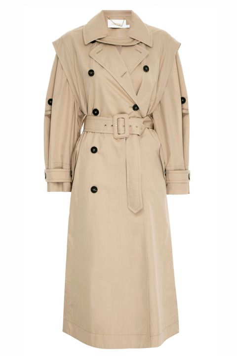 zimmermann beige trench coat