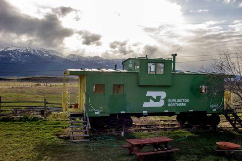 Converted Train Cars