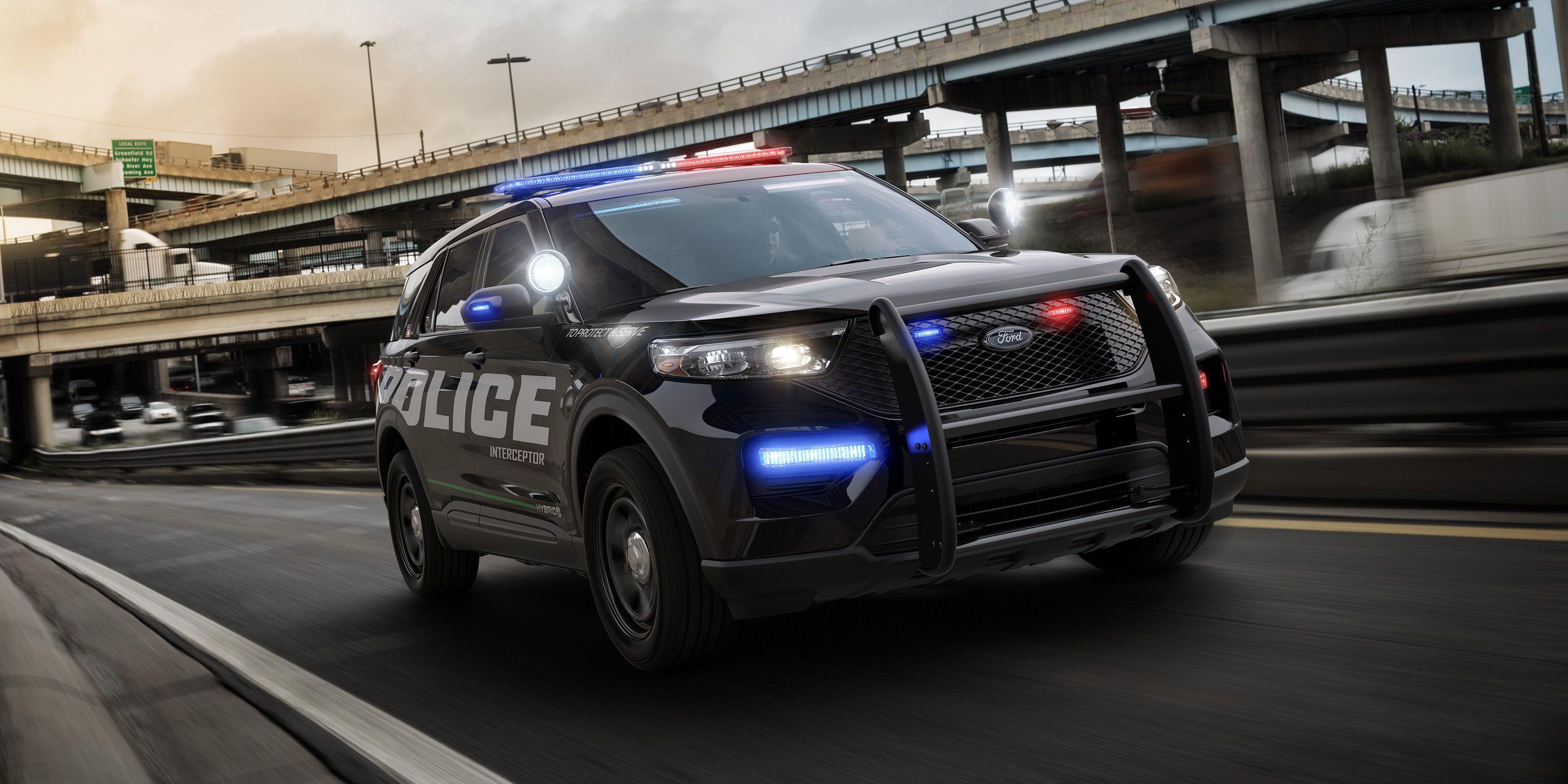 2020 Ford Explorer Preview Police Interceptor Utility Fully Revealed