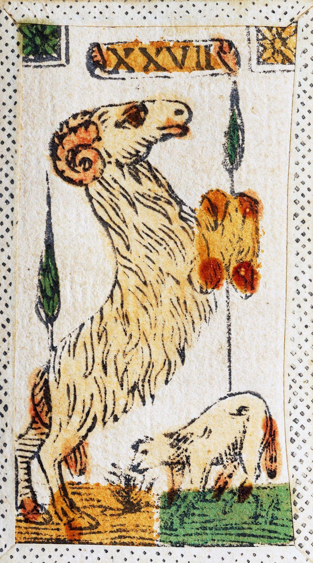 Signo del zodiaco del S. XVI
