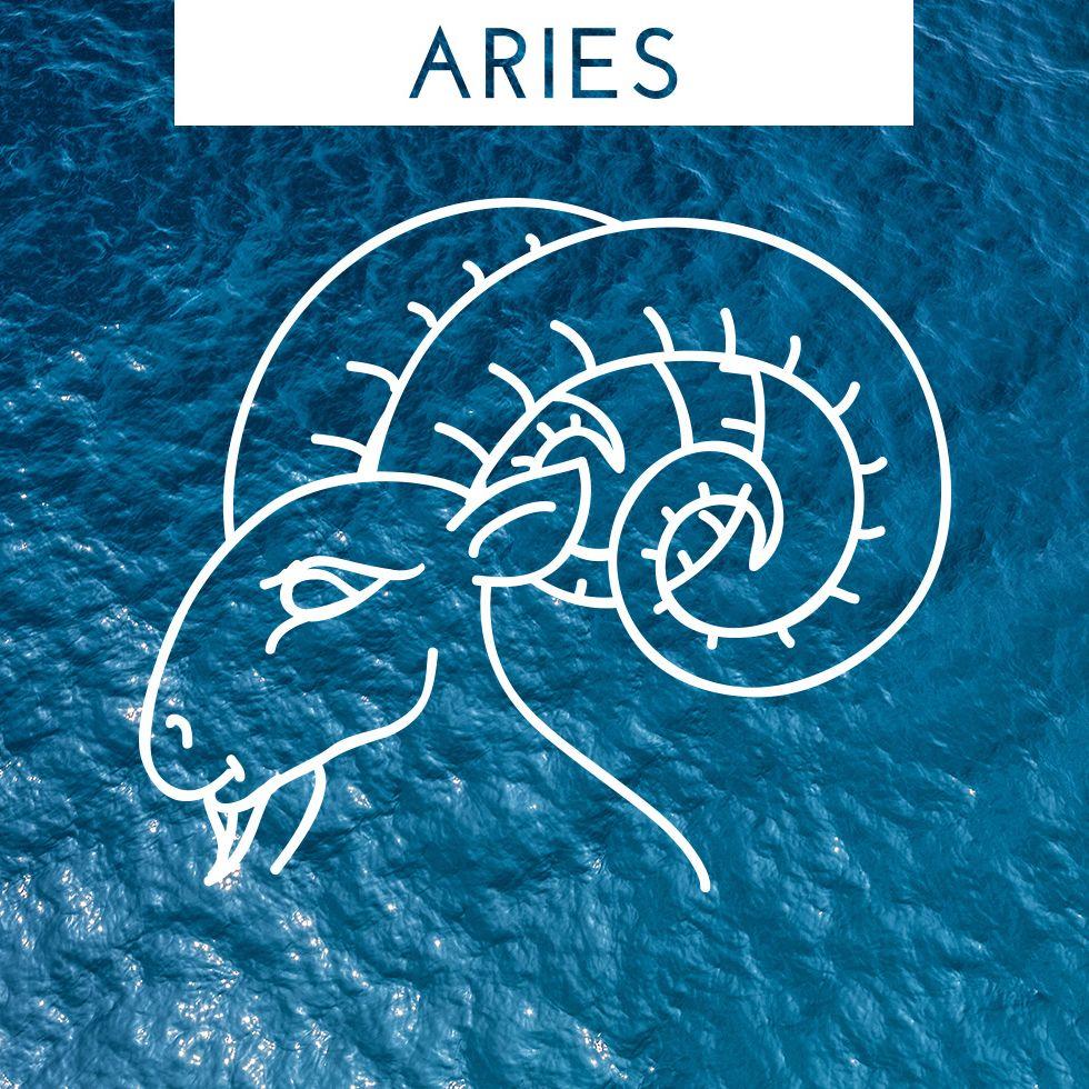 Aries horoscope zodiac symbol