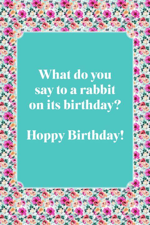 best jokes for kids rabbit hoppy birthday