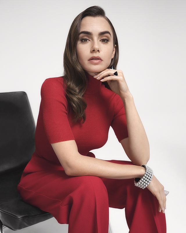 lily collins voor cartier clash unlimited