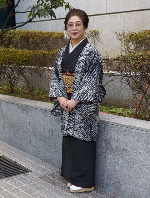 池田由紀子 時代布と時代衣裳池田 大島紬