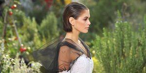 Kaia Gerber tijdens Chanel Couture, Paris Fashion Week