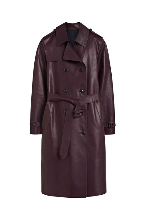 Clothing, Trench coat, Coat, Outerwear, Overcoat, Sleeve, Brown, Duster, Jacket, Collar,