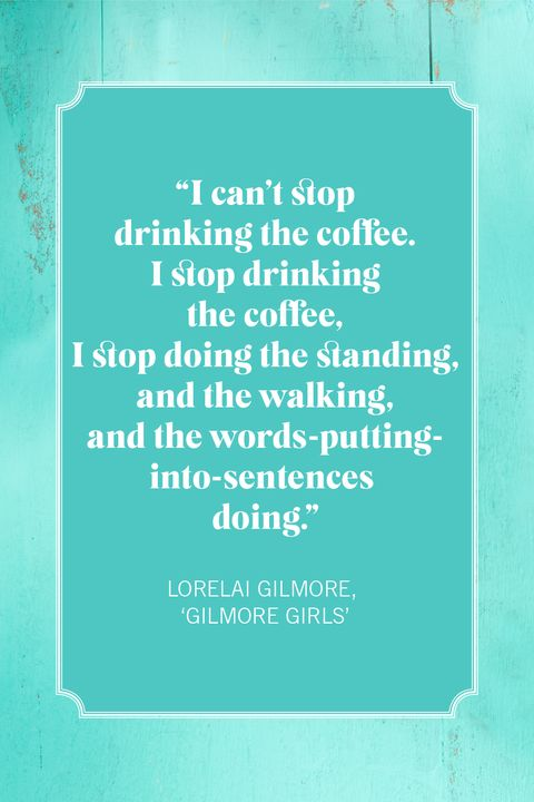 coffee quotes lorelai gilmore, 'gilmore girls'