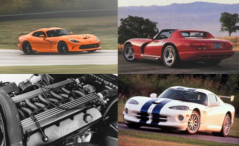 A Visual History Of The Dodge Viper Feature Car And Driver