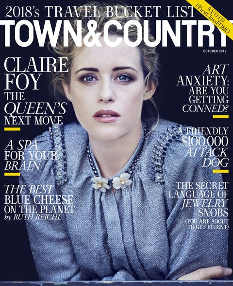 Town & Country October Cover