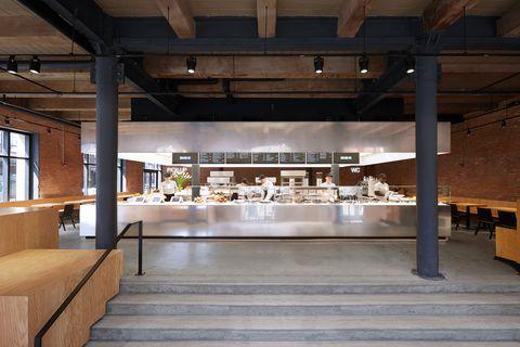 Dean & DeLuca negozio di gastronomia Stage di Ole Scheeren, a New York