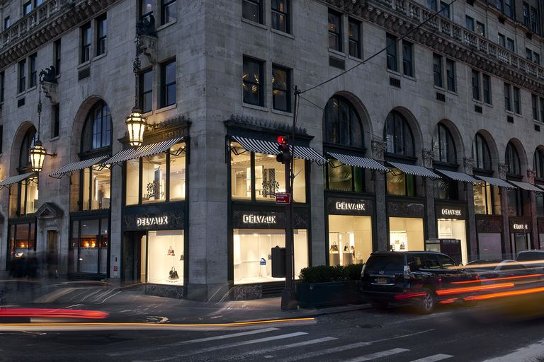 The Belgian brand Delvaux opens a new flagship in Manhattan.