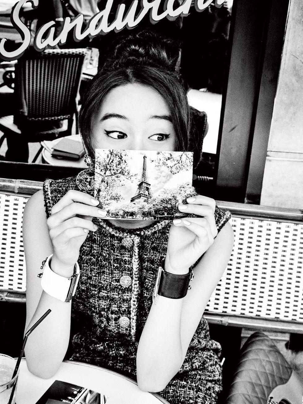 Kōki, 木村光希, 木村拓哉女兒, Ellen von Unwerth, ELLE Japan10月號封面