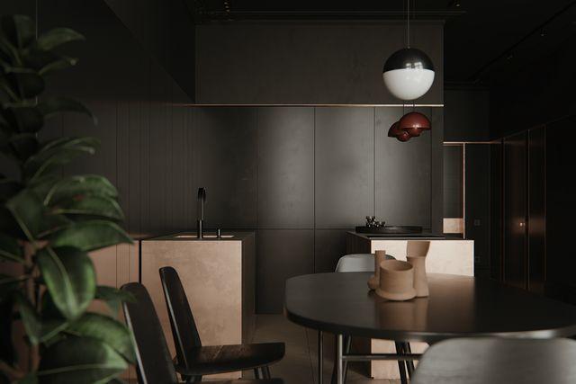 pareti grigio antracite