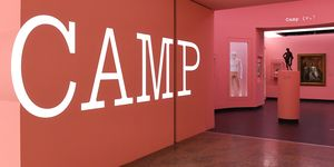 Camp Exhibit at Metropolitan Museum