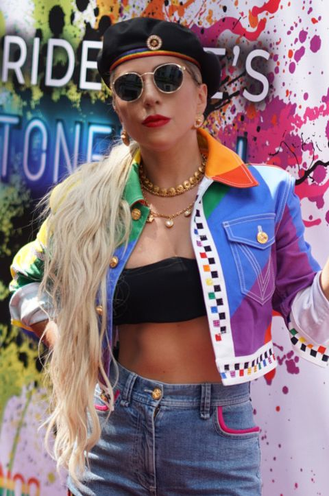 new york, new york   june 28 lady gaga attends pride lives 2019 stonewall day on june 28, 2019 in new york city photo by gothamgetty images for pride live